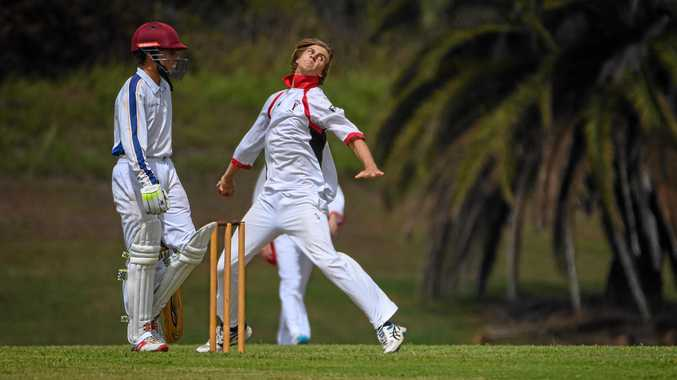 YMCA's Kassidy Pollitt put fear into the opposition when he bowled.