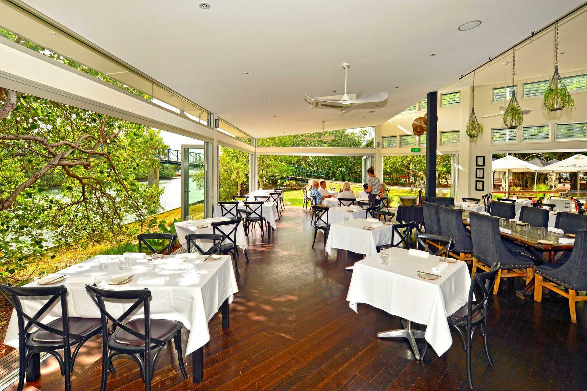 Noosa Waterfront Restaurant, Noosaville.