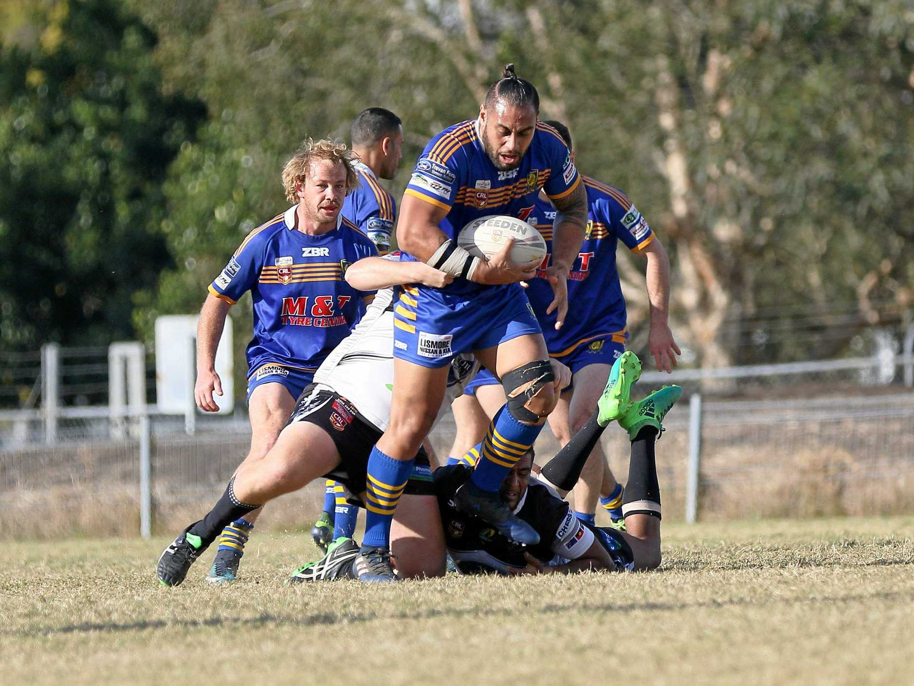 Marist Brothers second-rower Sio Alefosio has added a harder edge to the Rams forward pack since returning in NRRRL.
