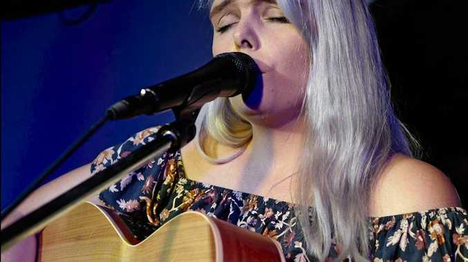 RISING STAR: Since winning Hervey Bay Unplugged in 2017, Leonie Kingdom has reached new heights in her music career.