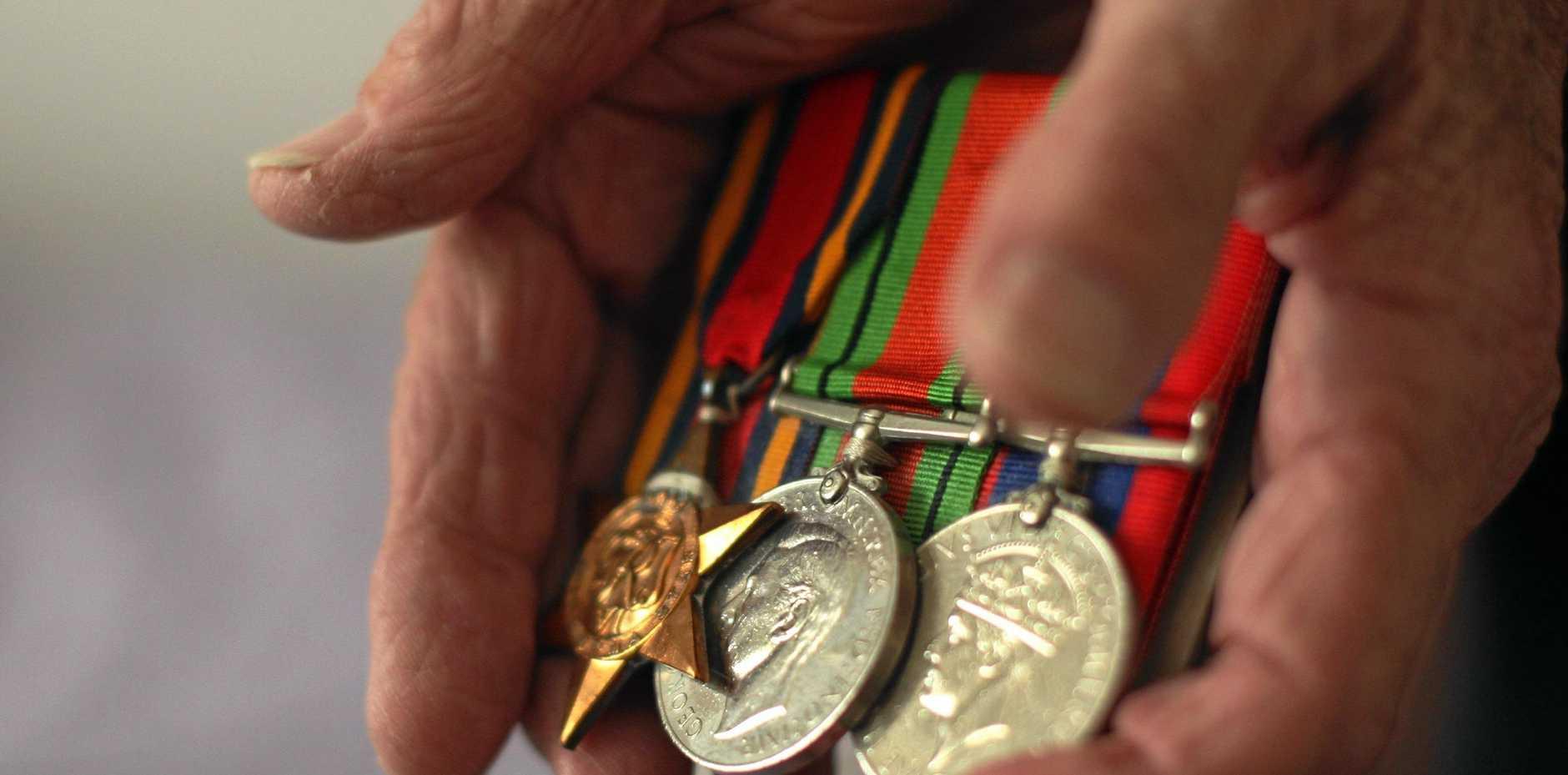 RAF Veteran's medals.