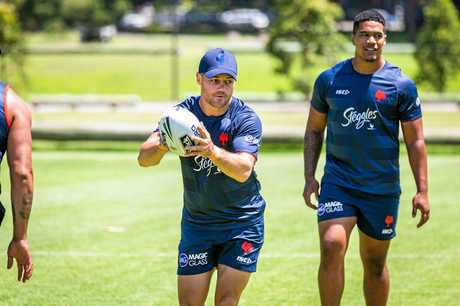 Cooper Cronk is set to play his 350th game in the NRL.