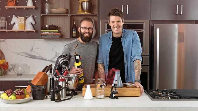 Dr Joel Gilmore and Ben Milbourne return in season three of Food Lab.