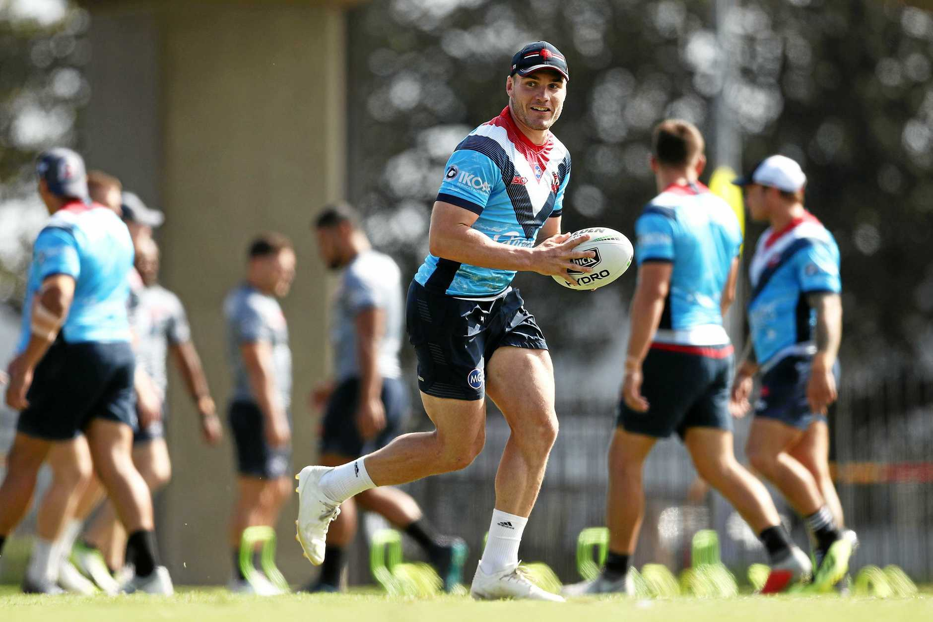 Angus Crichton has been added to the Roosters line-up.