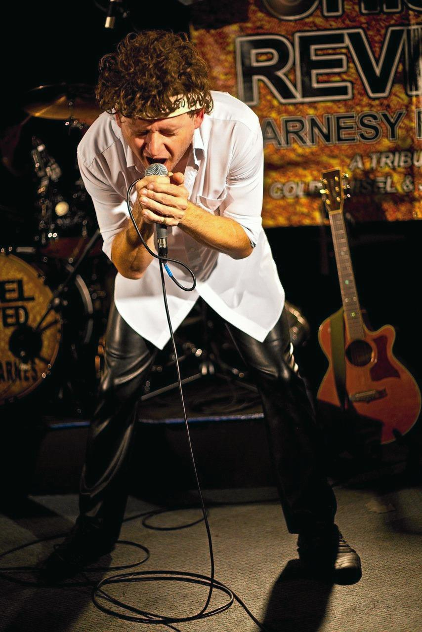 REUNITED: Cold Chisel tribute act Chisel Revived will be playing at the Tin Can Bay Country Club on Saturday night.