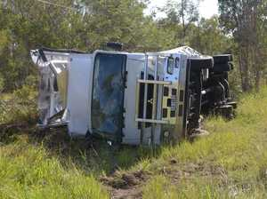 UPDATE: Man hospitalised, police to investigate rollover