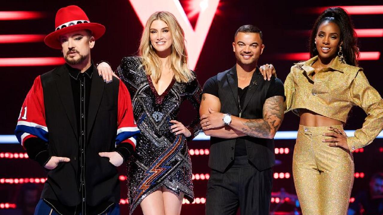 Judges for The Voice in 2019.