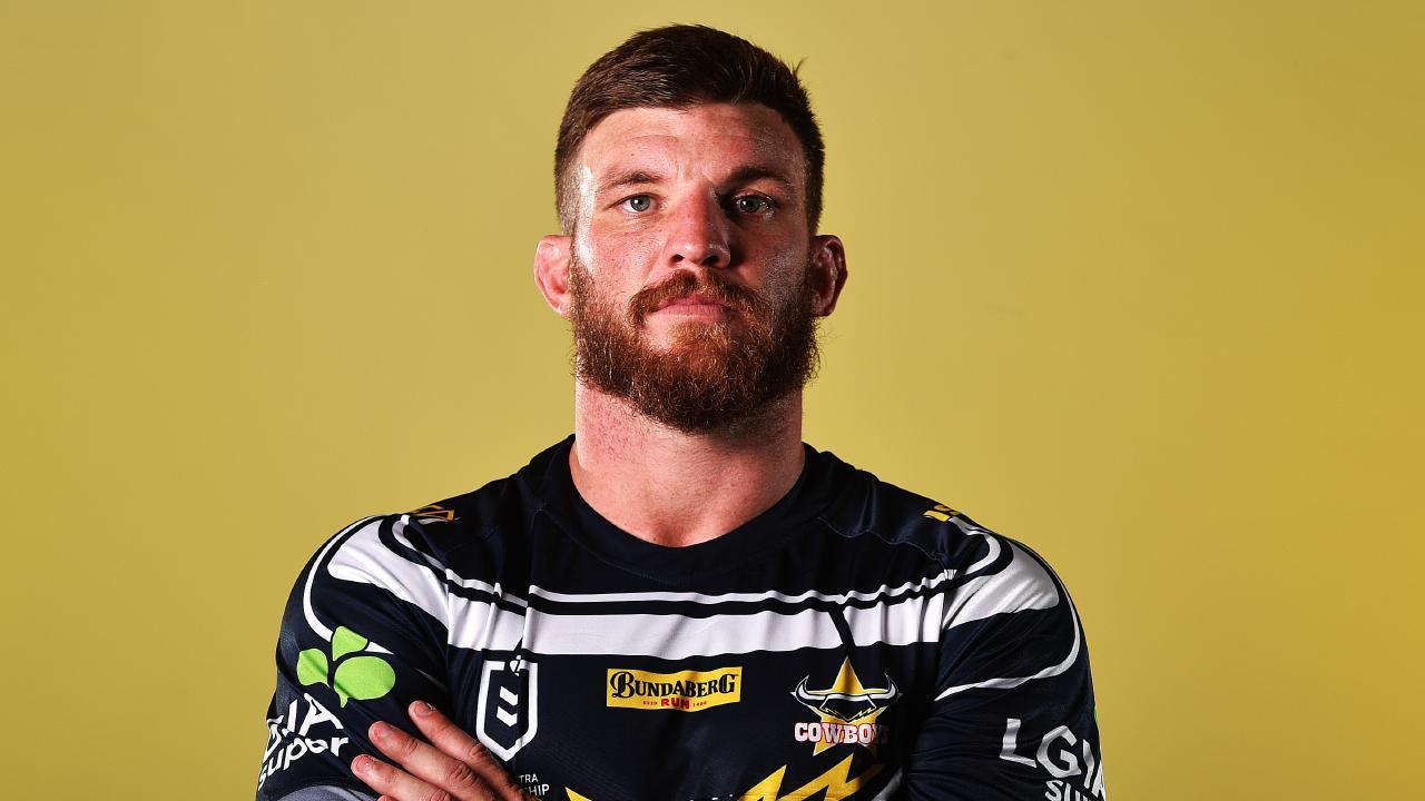 North Queensland Cowboys media day from 1300 Smiles Stadium, Townsville. Josh McGuire. Picture: Zak Simmonds