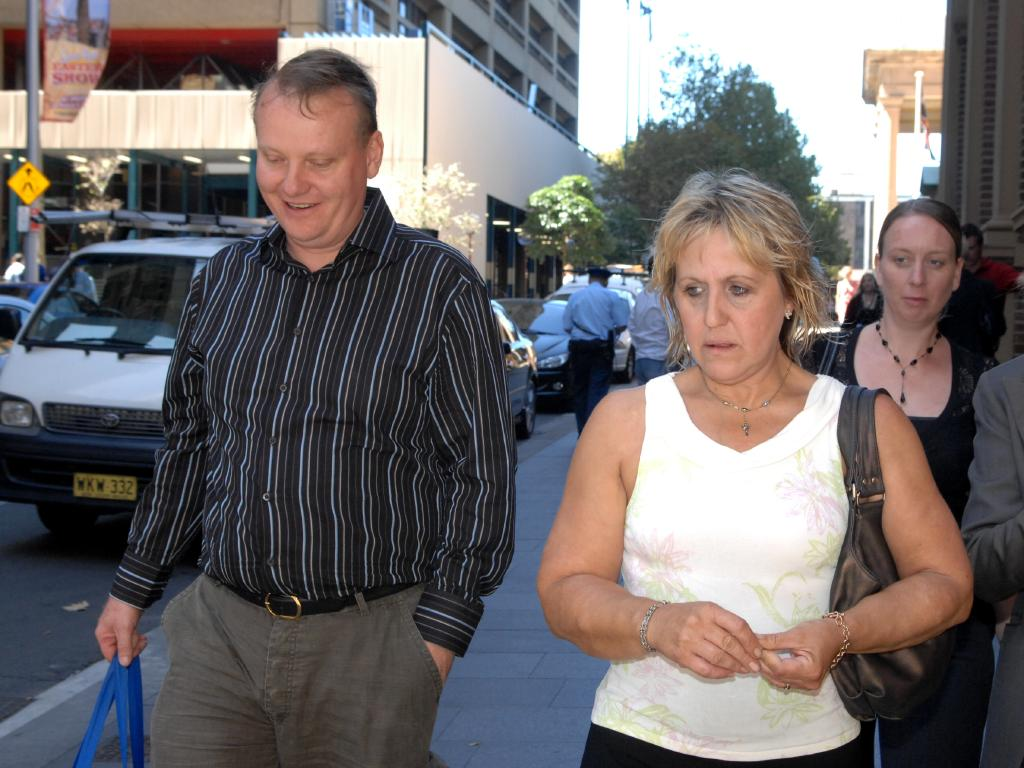 Chris and Mandy Burgess, outside court in 2008, say they will keep fighting for their daughter. Picture: News Corp