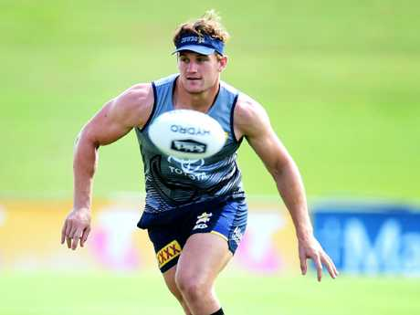 Coen Hess . NRL; North Queensland Cowboys training at 1300Smiles Stadium. Picture: Alix Sweeney