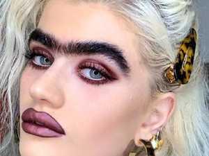 Model slammed over 'gross' monobrow