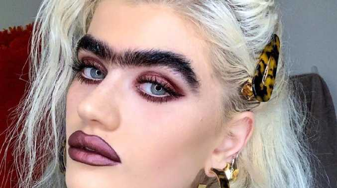 Model slammed over 'gross' monobrow