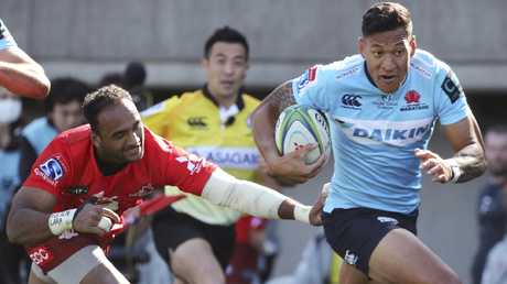 Israel Folau would be a star recruit for the Australian sevens team. Picture: AP