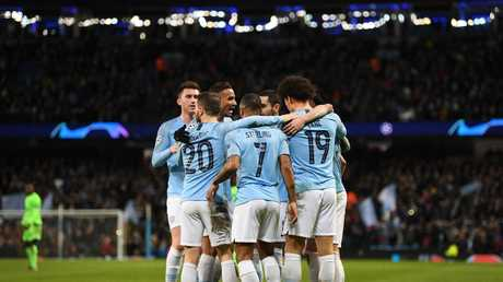 Leroy Sane cane backj to ahunt his former club. Sergio Aguero, Raheem Sterling, Bernardo Silva, Phil Foden and Gabriel Jesus also got on the scoresheet.