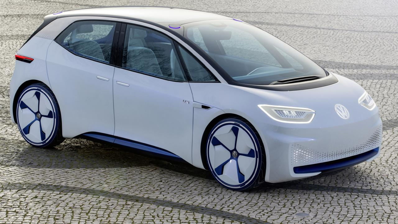 Volkswagen I.D. electric hatch concept.