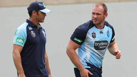 Brad Fittler was another willing to give Lodge a chance. Image: Phil Hillyard