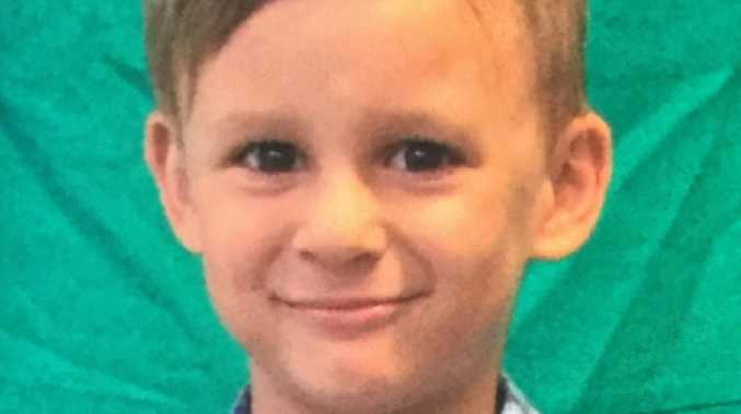 Police are concerned for the safety of the five-year-old.