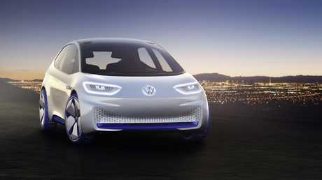 Volkswagen I.D. electric hatch concept will be the first of the brand's electric cars to be built.
