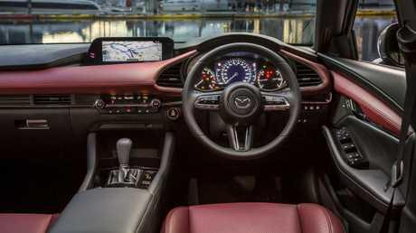 The new Mazda3 has a more premium feel.