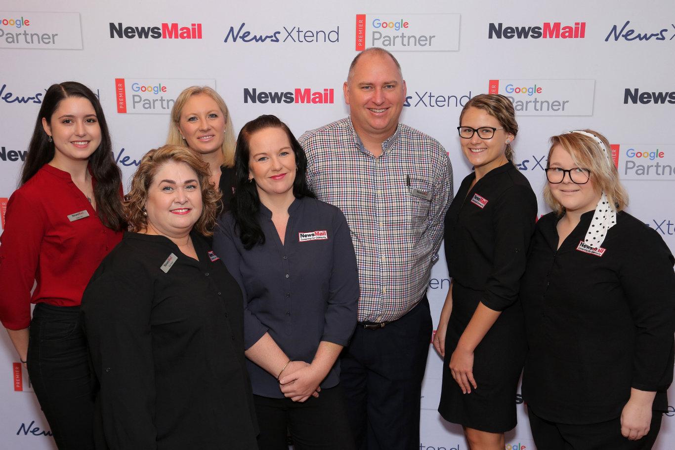 Future Bundaberg: NewsMail's editorial team members Katie Hall, Gail Irwin, Carolyn Booth, Emma Reid, Adam Wratten, Mikayla Haupt and Geordie Offord met with Bundy business owners on Wednesday.