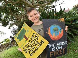 Young environmental warrior's mission to stop climate change