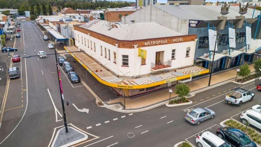 The Metropole Hotel, Toowoomba.