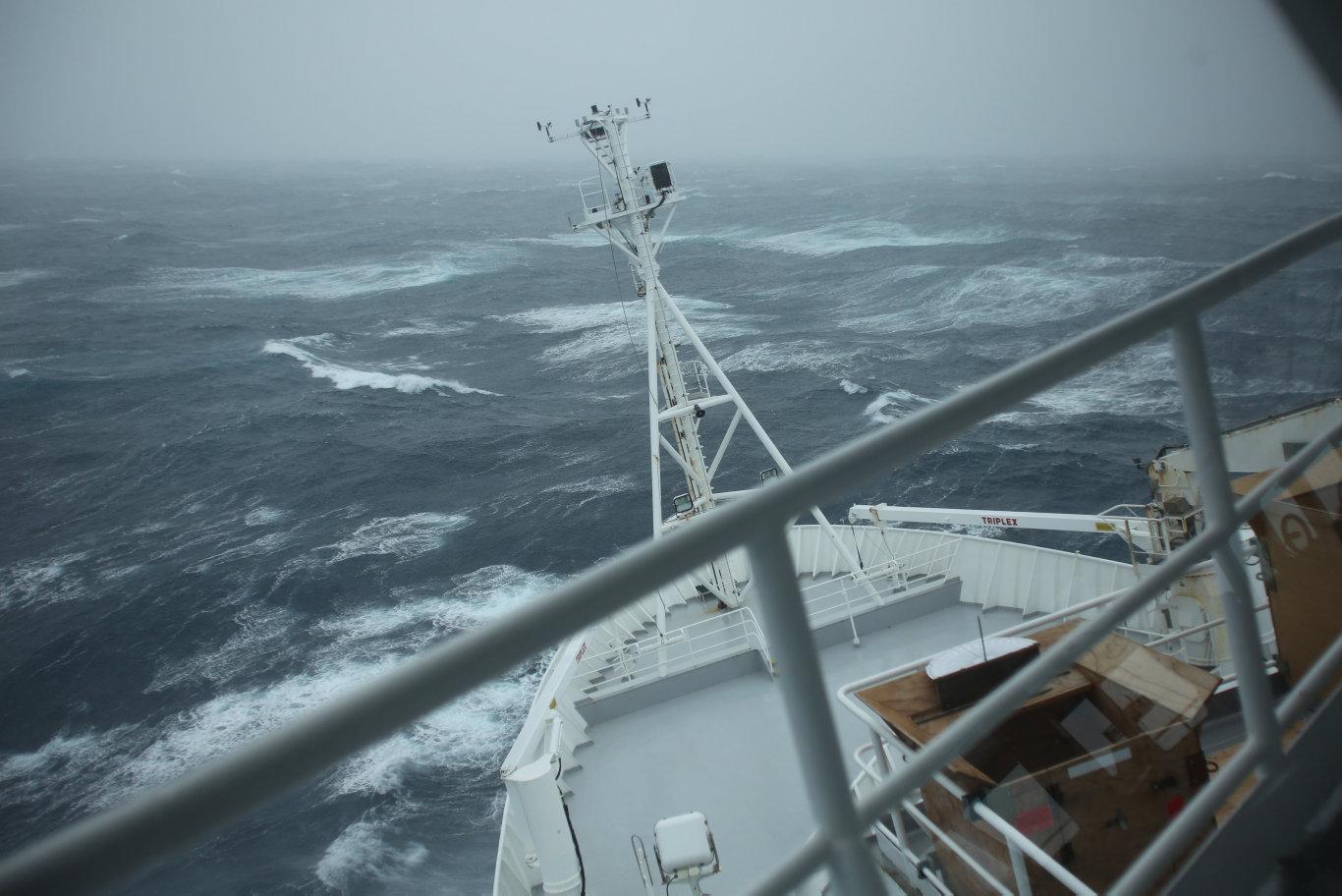 CSIRO RV Investigator in the Southern Ocean.