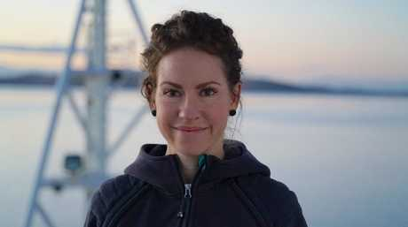 Tegan Sime is a Voyage Manager aboard RV Investigator.