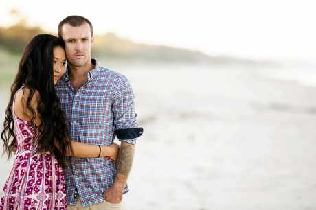 Noosa couple Simon and Ae-Ran Richardson.