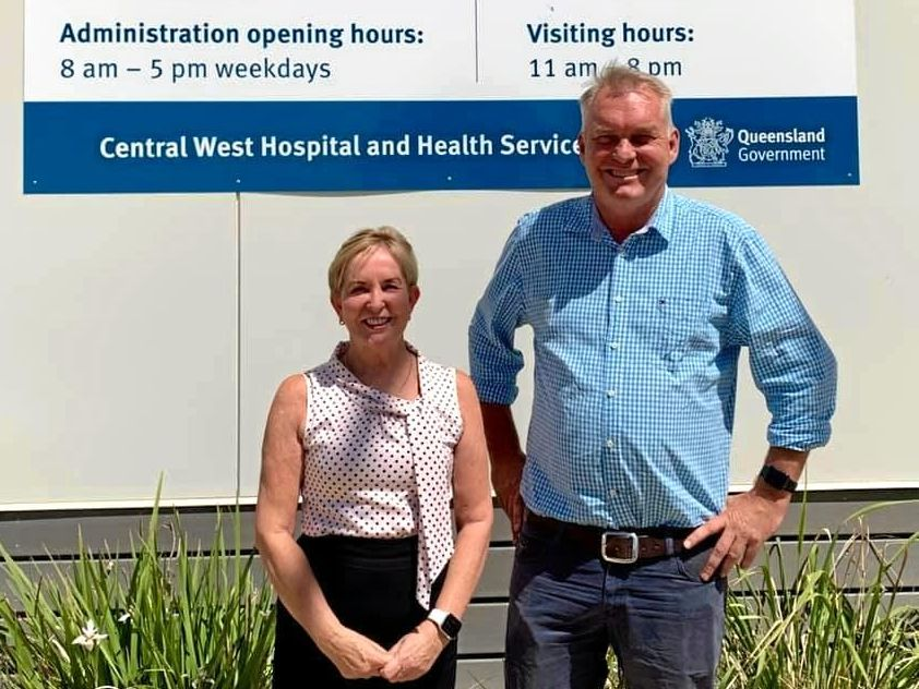 NOT HAPPY: LNP Health spokeswoman Ros Bates and Member for Gregory Lachlan Millar say mental health services are lacking in our region.