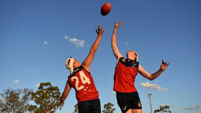 DEMON DOMINATION: Clancy Biggar and Joe Walsh will be battling teams from across the state as part of the Darling Downs Demons.