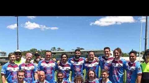 BACK AGAIN: The Shorty 9ers came together in Rockhampton recently.