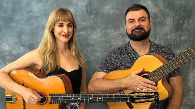EUMUNDI-BOUND: Miranda Deutsch and Cameron de la Vega will play the Munch festival at Imperial Hotel Eumundi.