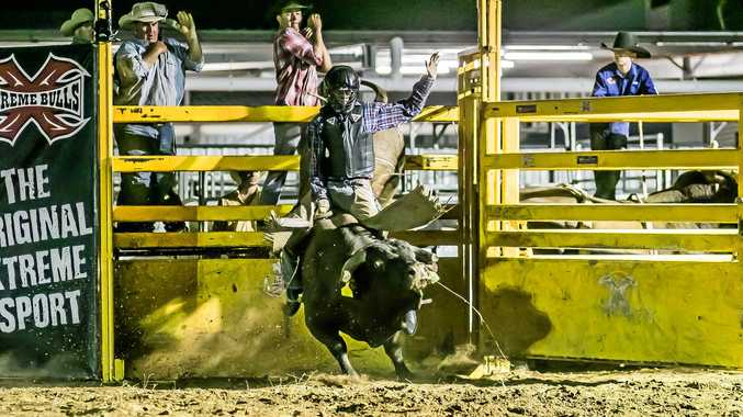 BUCKING BULLS: The Jambin State School P&C will be hosting its inaugural Bullarama fundraiser on March 16 and will feature former Biloela State High student and current Australian Champion Bullrider Brady Fielder.