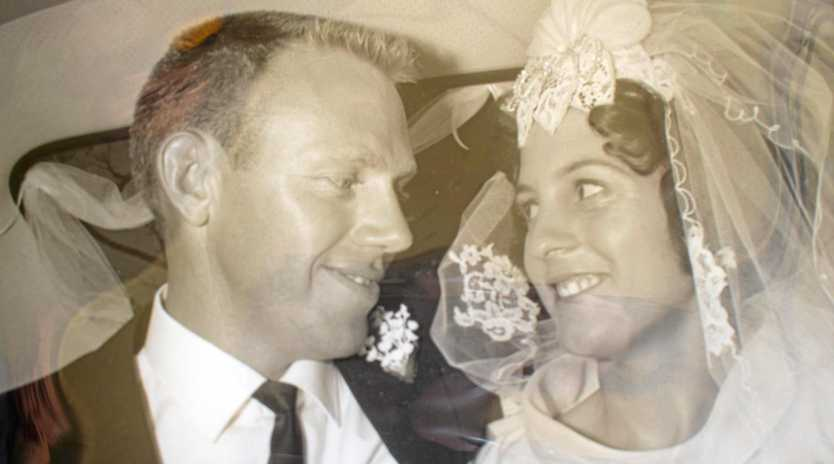 GOLDEN COUPLE: Stan and Judy Olsen celebrated their 50th wedding anniversary with friends and family last weekend.
