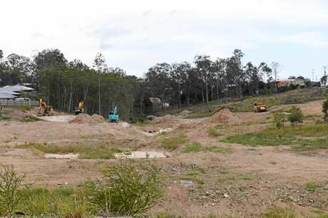 Gympie building site