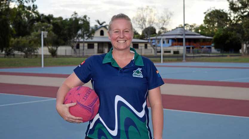 NETBALL MAD: Kristy Serotzki is an umpiring convenor, volunteer coach, umpire and mentor for Emerald Netball Association.