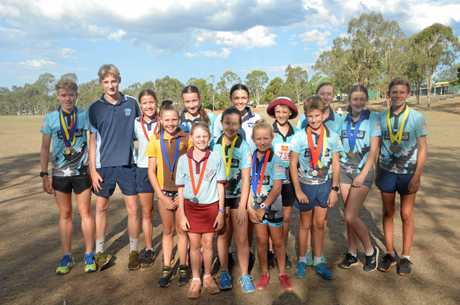Nanango's little athletes have exceeded expectations to qualify for state championships.