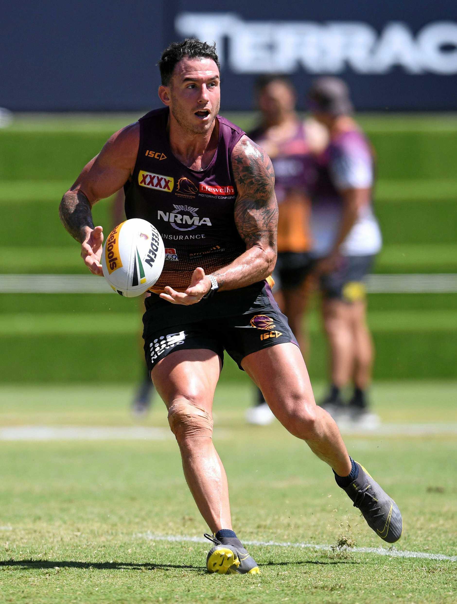 FULLBACK: Brisbane Broncos captain Darius Boyd.