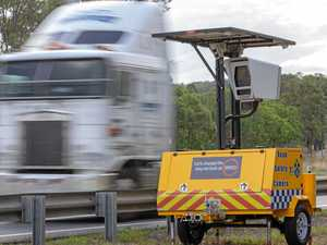 Speed camera catches 584 drivers