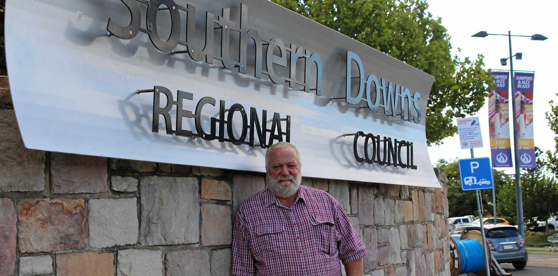 FUTURE DROUGHT: Southern Downs councillor Vic Pennisi has pleaded with fellow politicians to secure new water sources for the region.