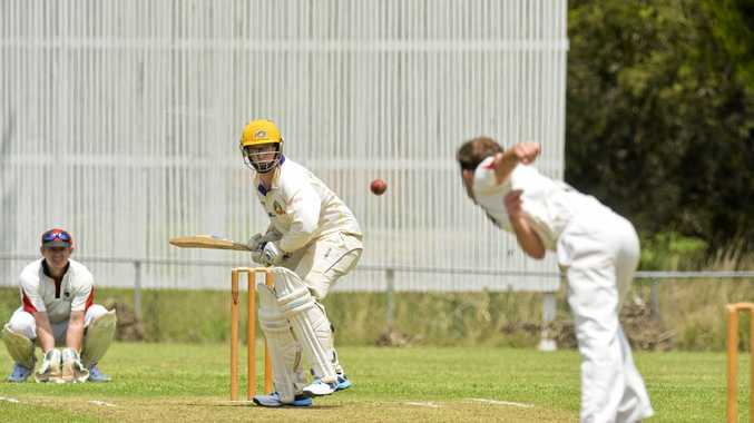 FINE FORM: Northern Brothers Diggers batsman Blake Anderson has been in superb form for his side, including belting 147 against Metropoltian-Easts at the weekend.