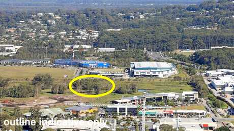 SOLD: The block marks the entrance to the new Maroochydore CBD on the western corridor.