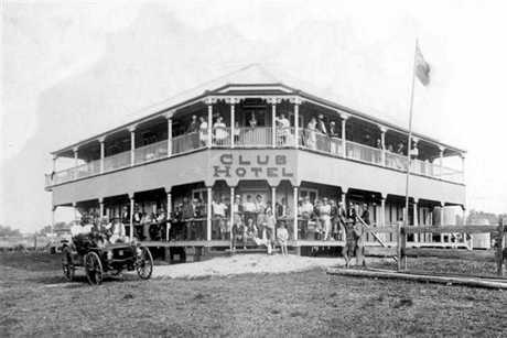 The Duporth Tavern was originally the Club Hotel.