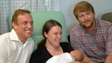 Little Felix Quinn came into the world five weeks early, and after a week at Sunshine Coast University Hospital's neonatal unit, can finally go home.