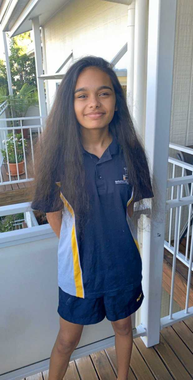 Mele Hausman-Funaki has been growing her hair for year with the idea she would shave it off during the World's Greatest Shave.