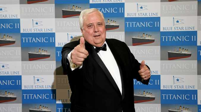 Clive Palmer's gunning for the election.