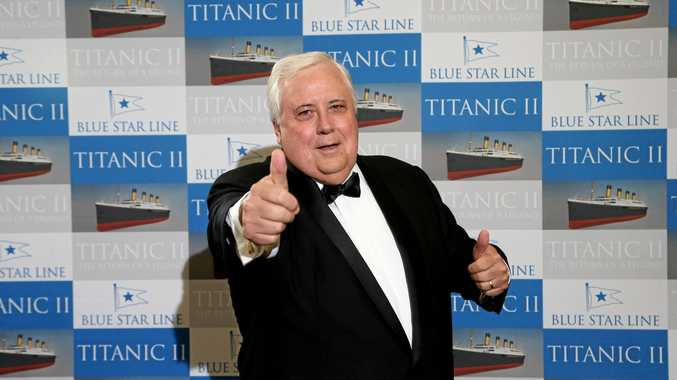 Clive Palmer has had a loss in the High Court.