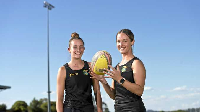 TALENTED DUO: Tribe Rugby players Chloe Cocks (left) and Alex McDonald are heading to Hong Kong this month to play in the All Girls Rugby Tournament hosted by the Sai Kung Stingrays.