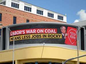 New LNP billboard accuses Labor of waging war on coal, jobs